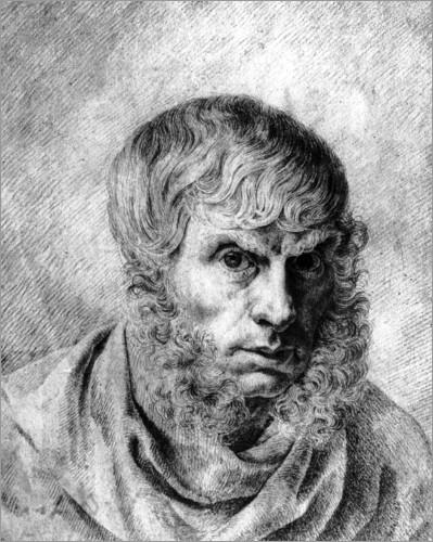 Caspar David Friedrich, En contemplant une collection de peintures, tableau, esprit humain, machine, critique, art, école