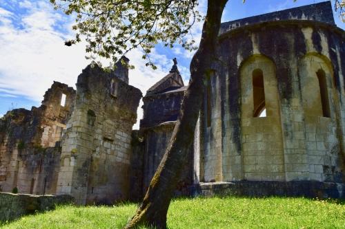 ruines d l'abbaye de boschaud,dordogne