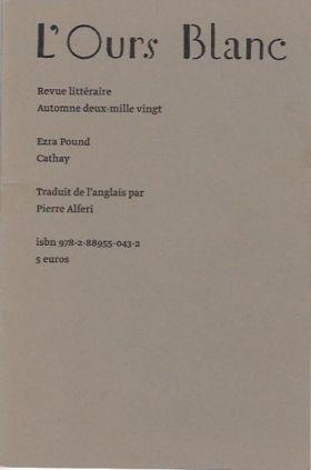 ezra pound,cathay,traduction pierre alferi,recension