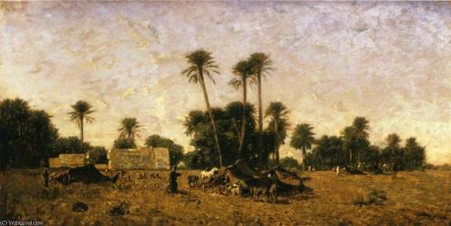 Eugène Fromentin, Carnet de voyage en Algérie, neige, douar, montagne, orient