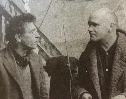 Jean Genet, L'Atelier d'Alberto Giacometti, statue, gris