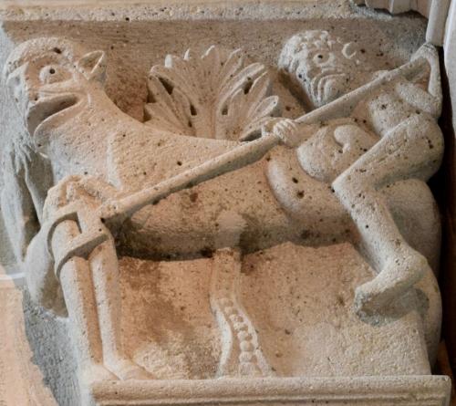 chapiteaux de la cathédrale saint lazare,autun