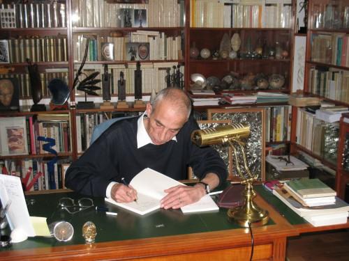 Pierre Bergounioux, Obazine, bibliothèque, livre, imagination, Hamlet