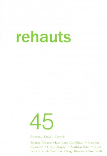 rehauts,n° 45,printemps 2020